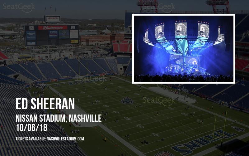 Ed Sheeran at Nissan Stadium