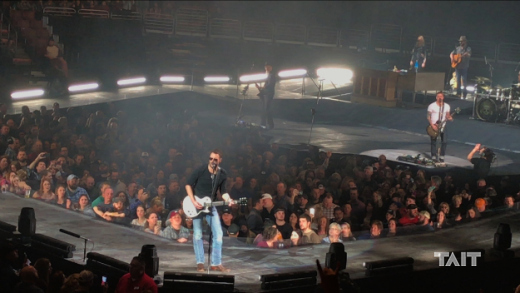 Eric Church at Nissan Stadium