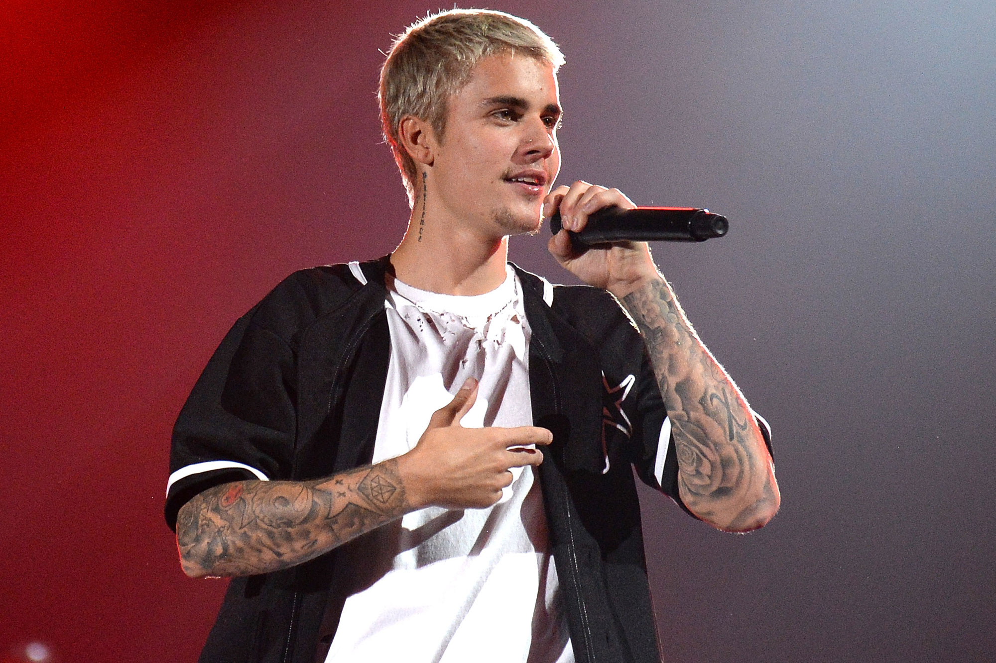 Justin Bieber at Nissan Stadium