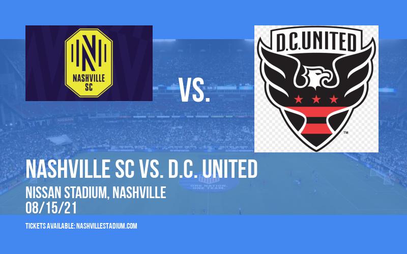 Nashville SC vs. D.C. United at Nissan Stadium