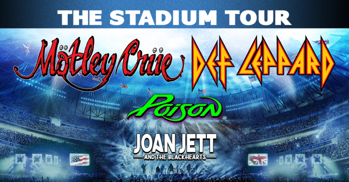 The Stadium Tour: Motley Crue, Def Leppard, Poison & Joan Jett and The Blackhearts at Nissan Stadium