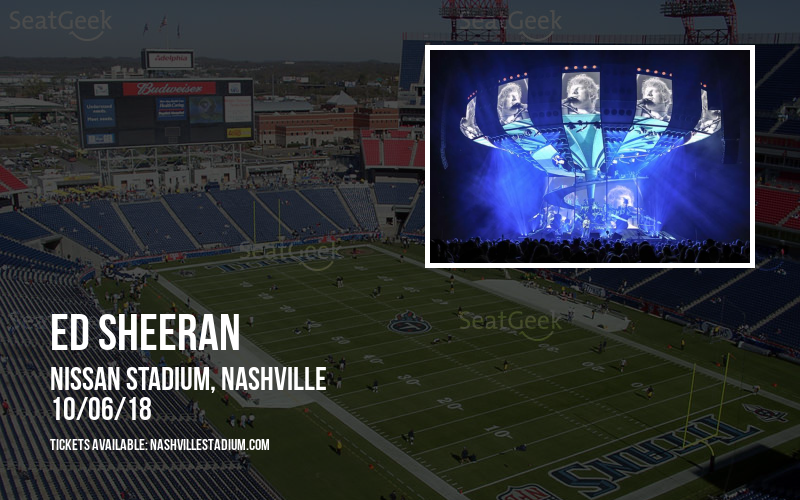 Ed Sheeran at Nissan Stadium