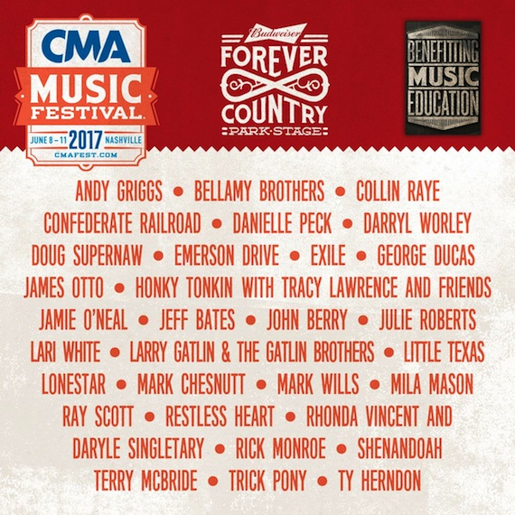 CMA Music Festival - Sunday at Nissan Stadium