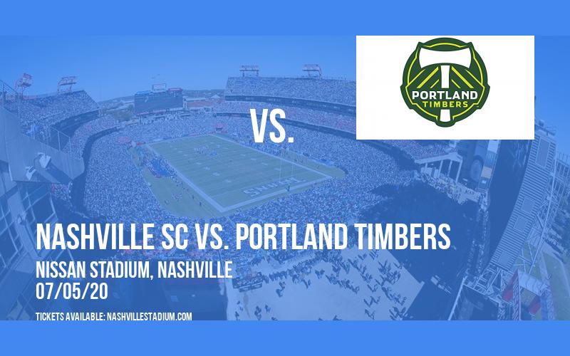 Nashville SC vs. Portland Timbers [CANCELLED] at Nissan Stadium