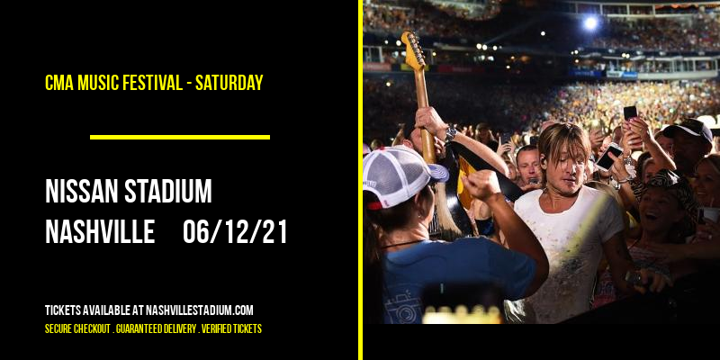 CMA Music Festival - Saturday at Nissan Stadium