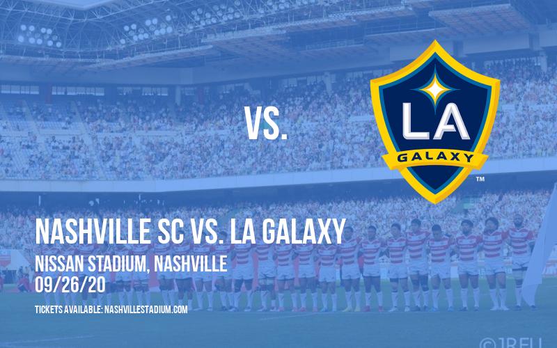 Nashville SC vs. LA Galaxy [CANCELLED] at Nissan Stadium