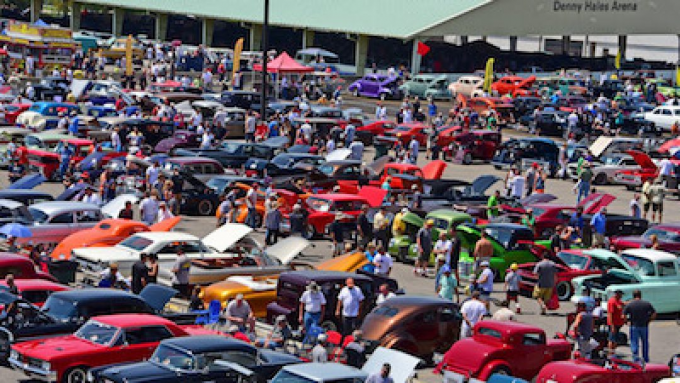 Goodguys Car Show at Nissan Stadium